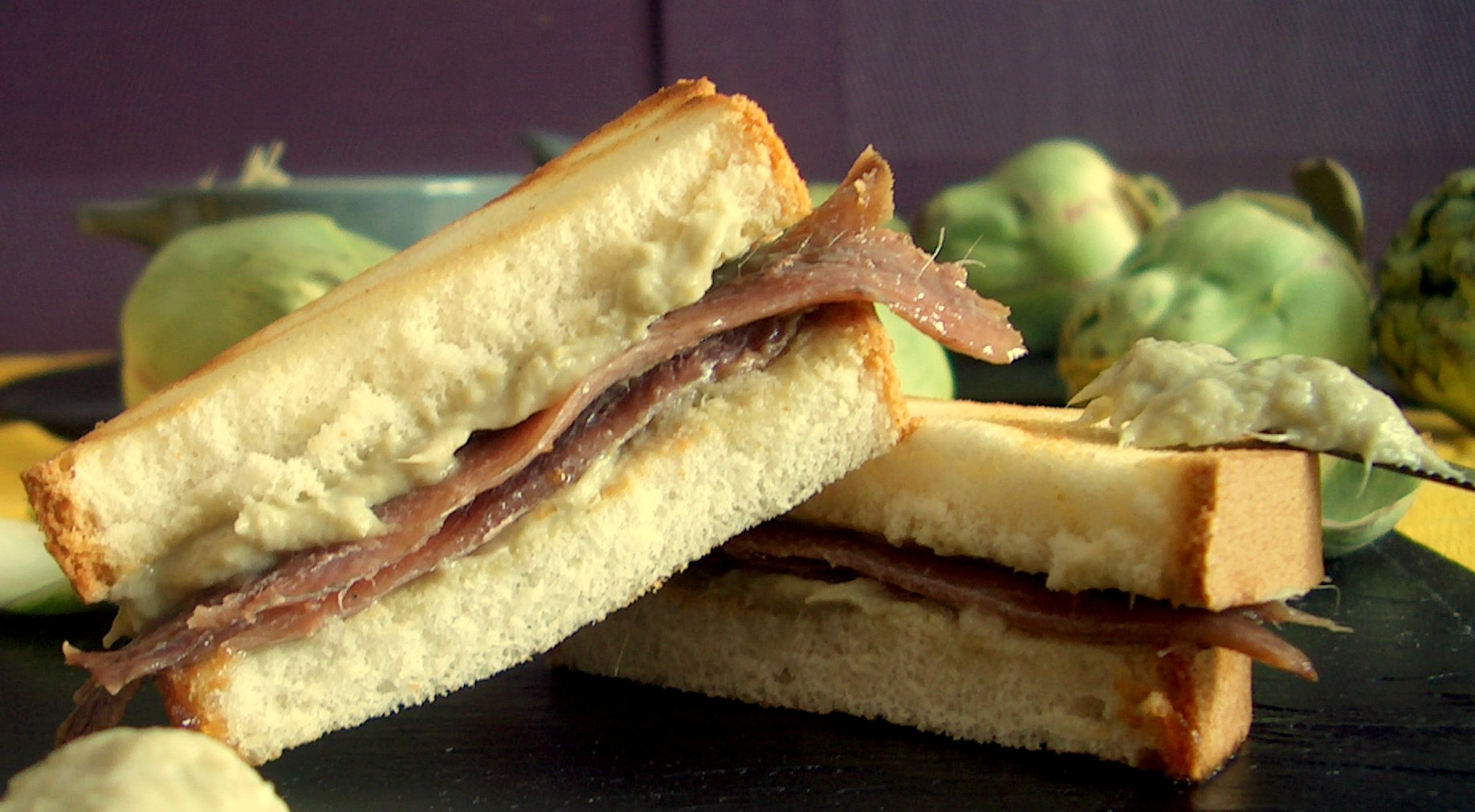 Anchovy Sandwich