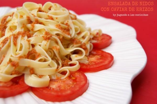 pasta nest salad
