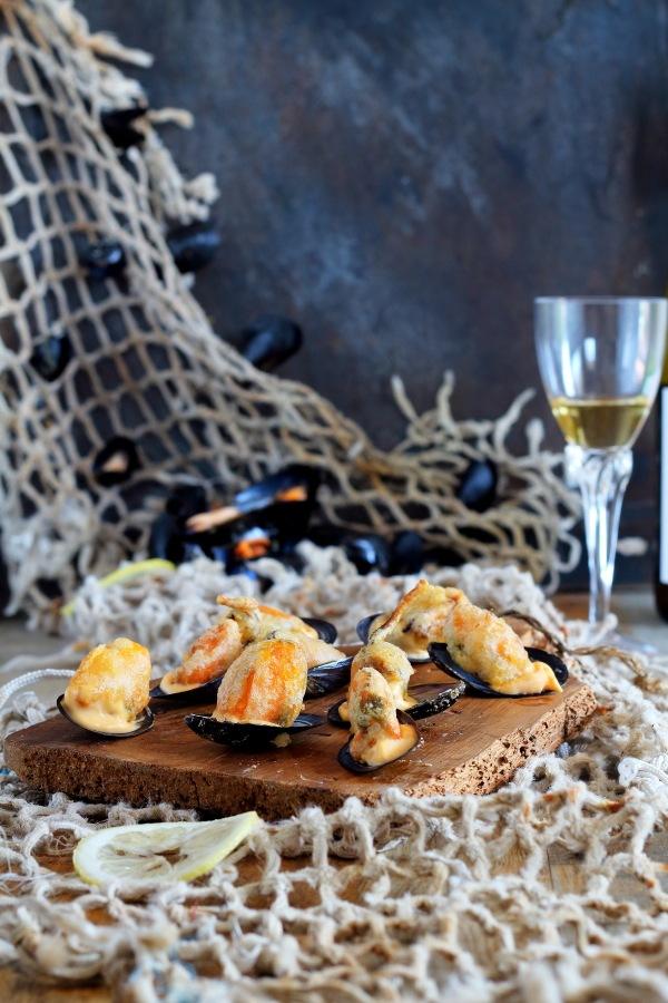 Mussels in tempura