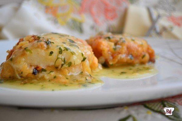 Stuffed hake recipe