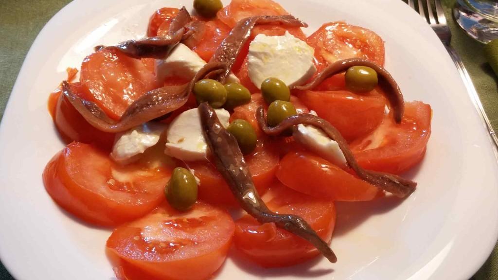 """Cantabrese"" salad"