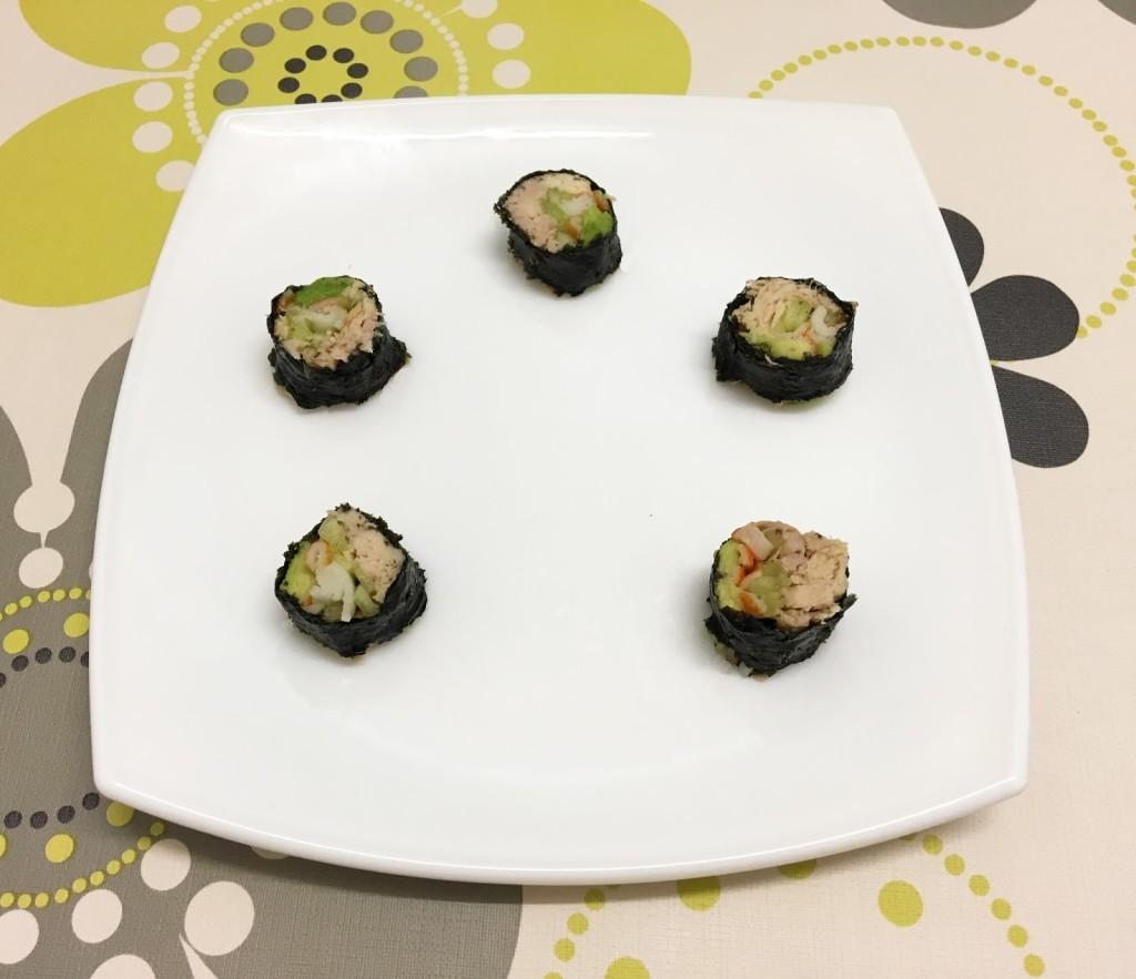 White Tuna sushi