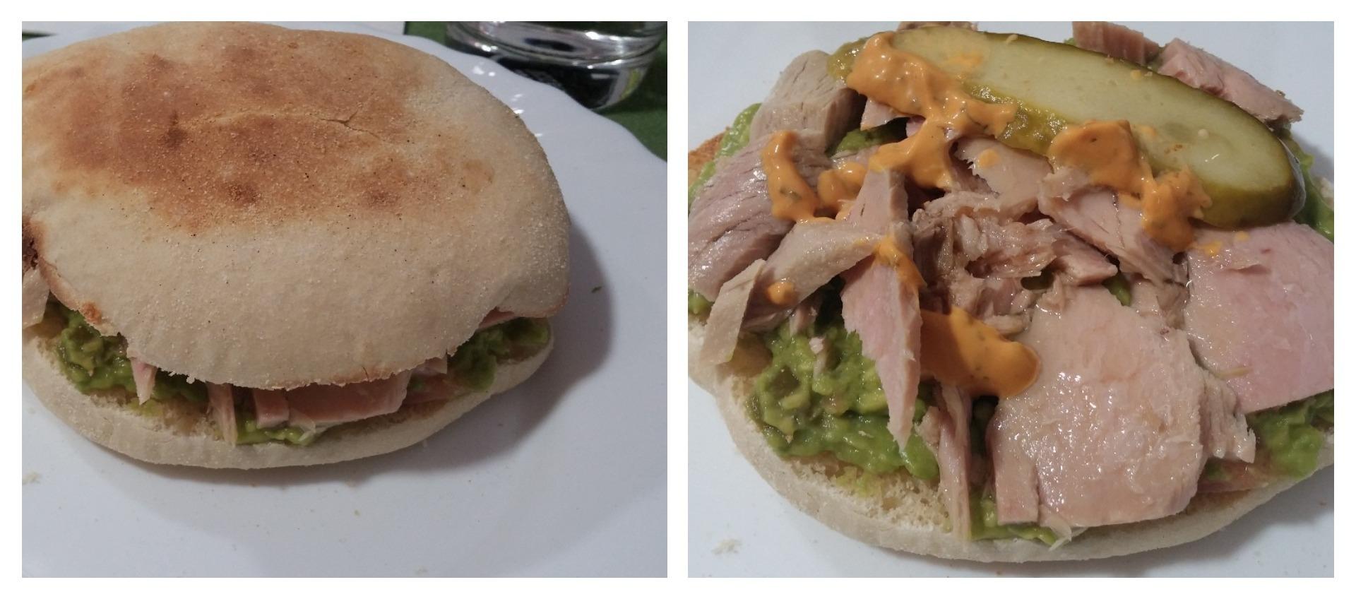 American-style tuna burgers