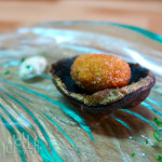 Christmas canapés: Mussel beignets