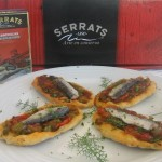 Christmas canapés: Vegetable and sardine canapés