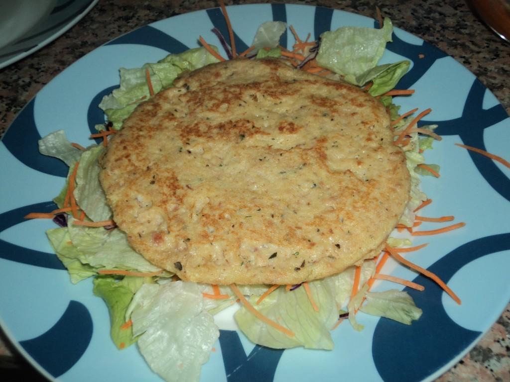 Quick tuna pancakes