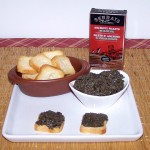 Homemade tapenade with Cantabrian anchovies