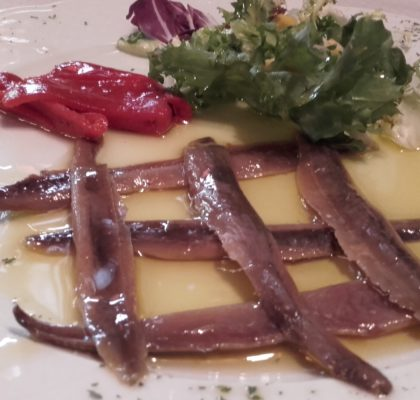 Anchovies in EVOO