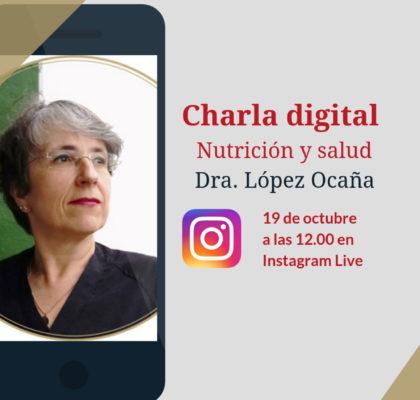 The video of the digital talk with Dr. López-Ocaña is already available!