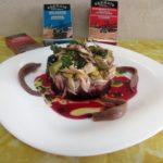 Tuna belly and yellowfin tuna tartar with cod