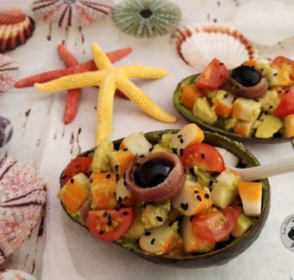 """Cantabrian style"" avocado salad"