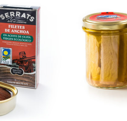 ECO anchovies and White Tuna, deliciously nutritious