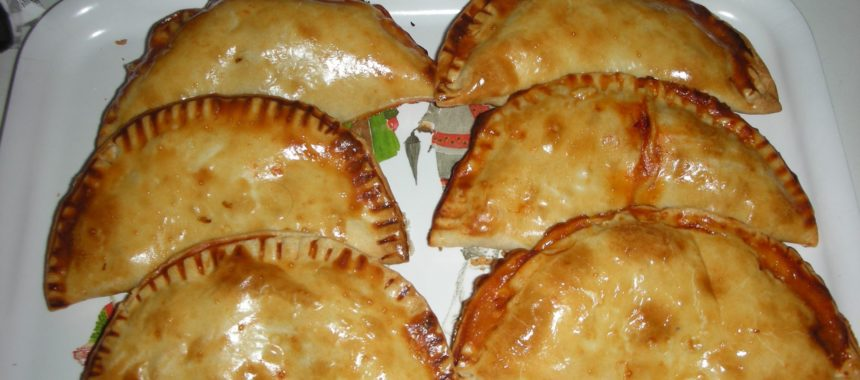 White Tuna empanadillas (dumplings)