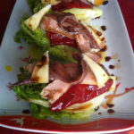 Cantabrian Txalupas with anchovies and tuna belly