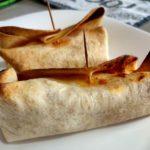 White Tuna Baked burritos («pizzaritos»)