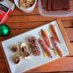 Three easy canapes with anchovies for Christmas