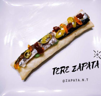 Sardines Christmas Canapé