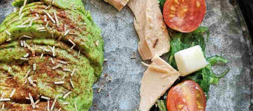 Wakame seaweed and tuna salad, «Sapore Di Mare»